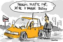 Kreslený humor Karla Hohla.