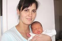 Od pátku 16. ledna má maminka Gabriela spolu s tatínkem Davidem z Jinců radost ze svého prvorozeného synka Davida Vechety, který v ten den vážil 3,55 kg a měřil 50 cm.