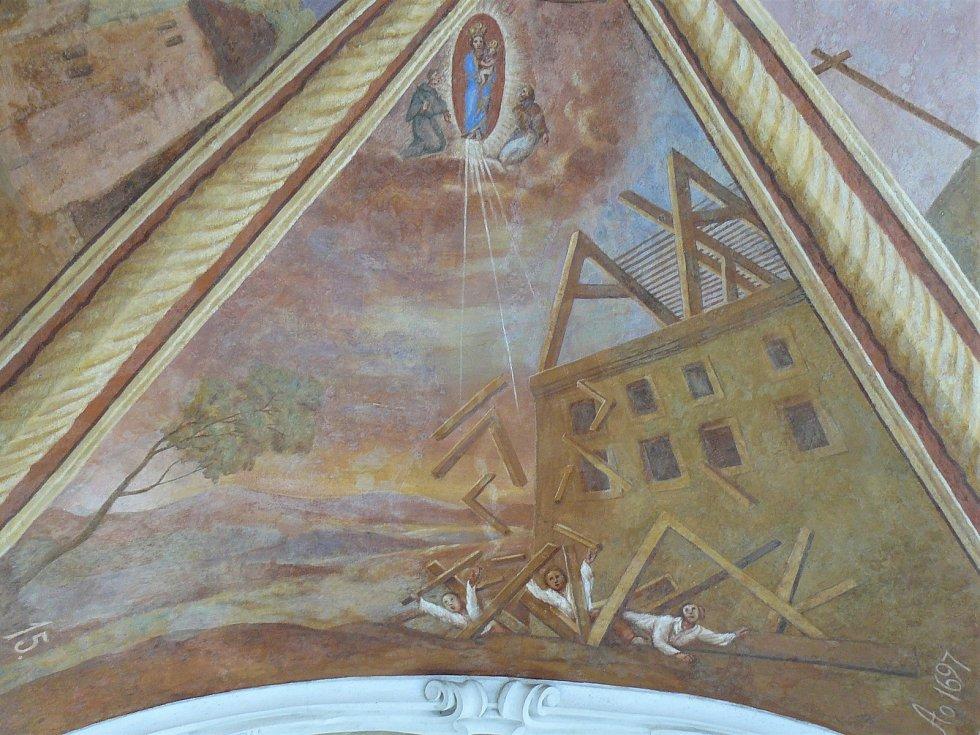 Sto svatohorských milostí: obraz číslo 15.