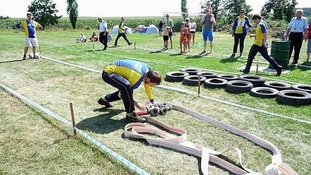 Tradiční hasičská soutěž Obořišťský Soptík