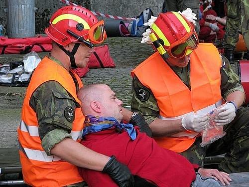 Rescue Patrol 2009 - zásah při požáru ve vodní elektrárně Orlík