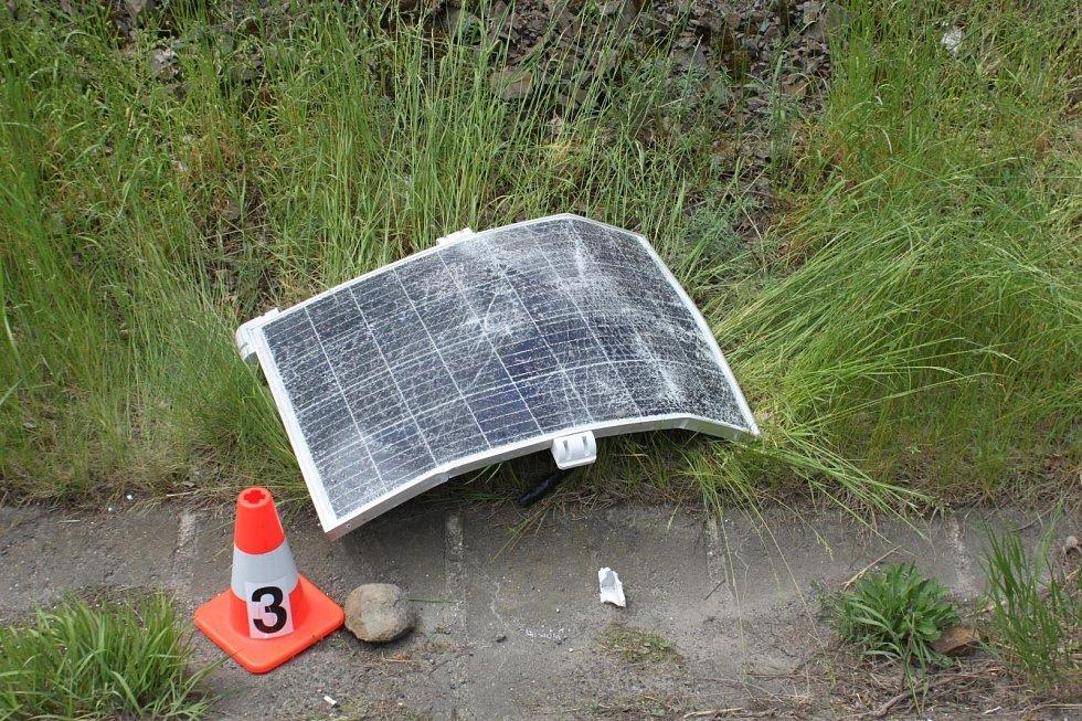 Solární panel.