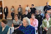 Pietní shromáždění k uctění památky obětí 2. světové války se uskutečnilo v úterý 19. února 2019 v obřadní síni městského úřadu v Zámečku-Ernestinu v Příbrami.