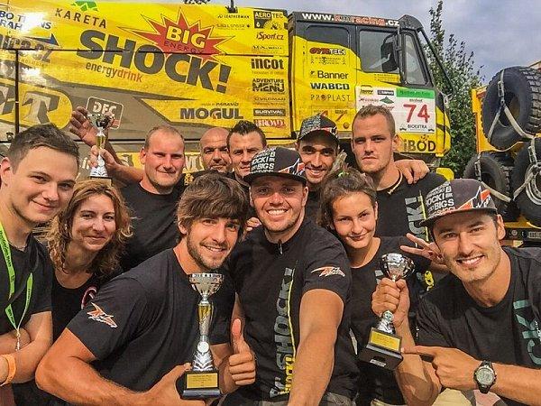 Martin Macík ze Sedlčan patří ve svých šestadvaceti letech knejmladším a také nejlepším závodníkům Rallye Dakar.