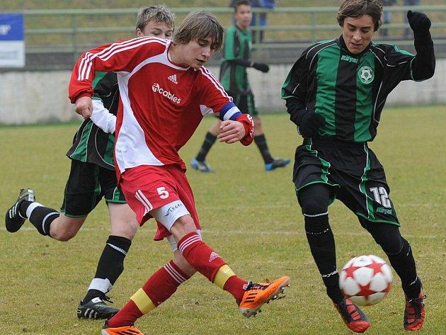 Liga žáků U15: 1.FK Příbram - Motorlet.