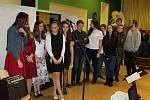 Z benefičního koncertu a charitativního jarmarku v Domě dětí a mládeže v Příbrami
