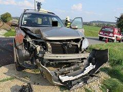 Nehoda z 27. 9. na železnici na Březnicku.
