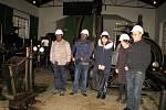 Hornické muzeum Příbram navštívila skupina báňských specialistů z Číny a Konga nominovaná Mezinárodní agenturou pro atomovou energii ve Vídni, která se v těchto dnech účastní v ČR kurzu pořádaného Mezinárodním školícím střediskem s. p. DIAMO.
