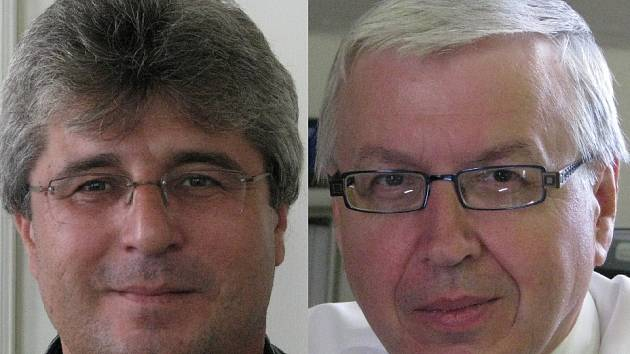 Josef Řihák a Jaromír Volný