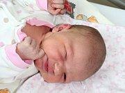 Eliška Tunkrová se narodila 8. února s váhou 3,56 kg Petře a Lukášovi z Příbrami.