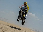 JE TO TADY! Úvodním prologem začala Rallye Dakar 2018. Členové týmu Big Shock Racing se cítí dobře, jsou po první etapě spokojeni a věří, že v následujících dnech se jim bude dařit.
