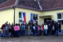 Příbram poskytla základní škole v kosovské Gornje Ljupči finanční a materiální pomoc na rekonstrukci školy