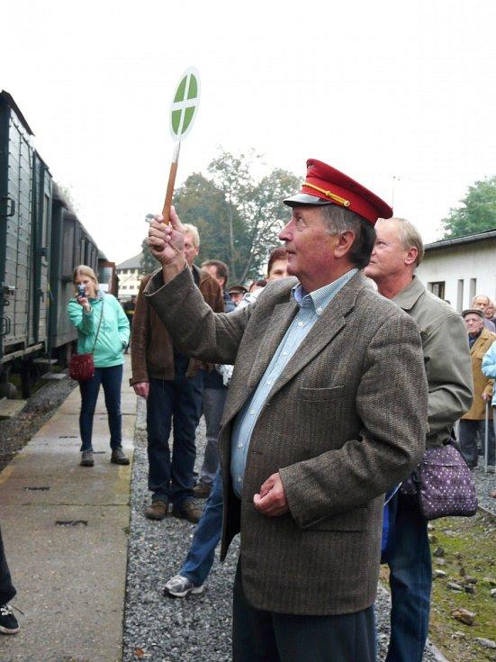 Oslavy železnice.