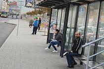 Autobusové nádraží v Příbrami