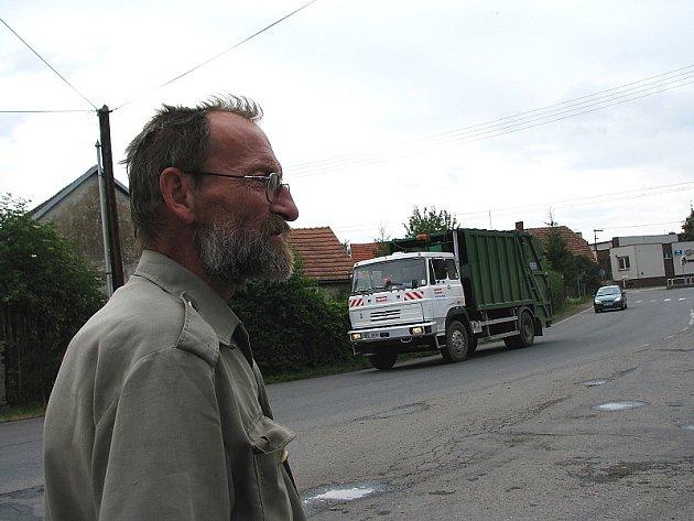Kamiony trápí obyvatele Tochovic na Příbramsku