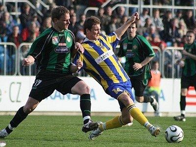 2. liga: Opava - Příbram (0:1).