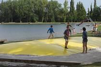 Nový rybník v Příbrami.