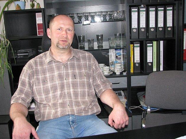 Jan Michálek, starosta Dolních Hbit.