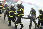 Záchranářské cvičení SOS Extreme 2019 ve Vestci na Praze-západ.
