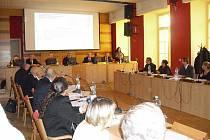 Jednání příbramského zastupitelstva. Ilustrační foto