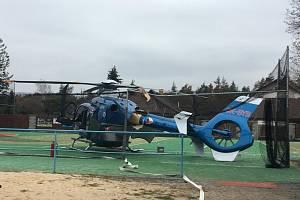 Havarovaný vrtulník