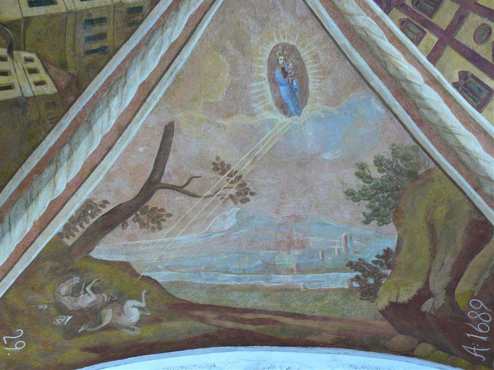 Sto svatohorských milostí: obraz číslo 29.