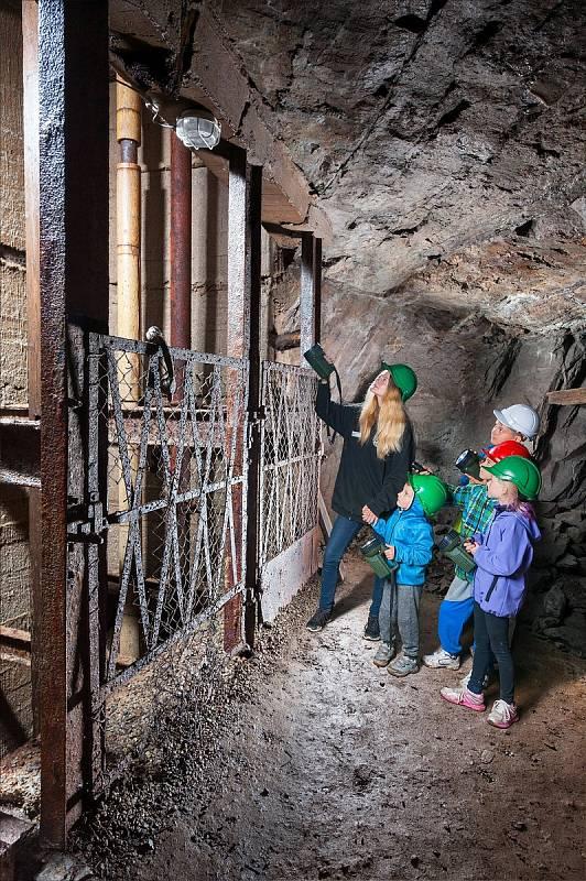 Hornické muzeum Příbram – důl Anna, trasa Jánský důl.