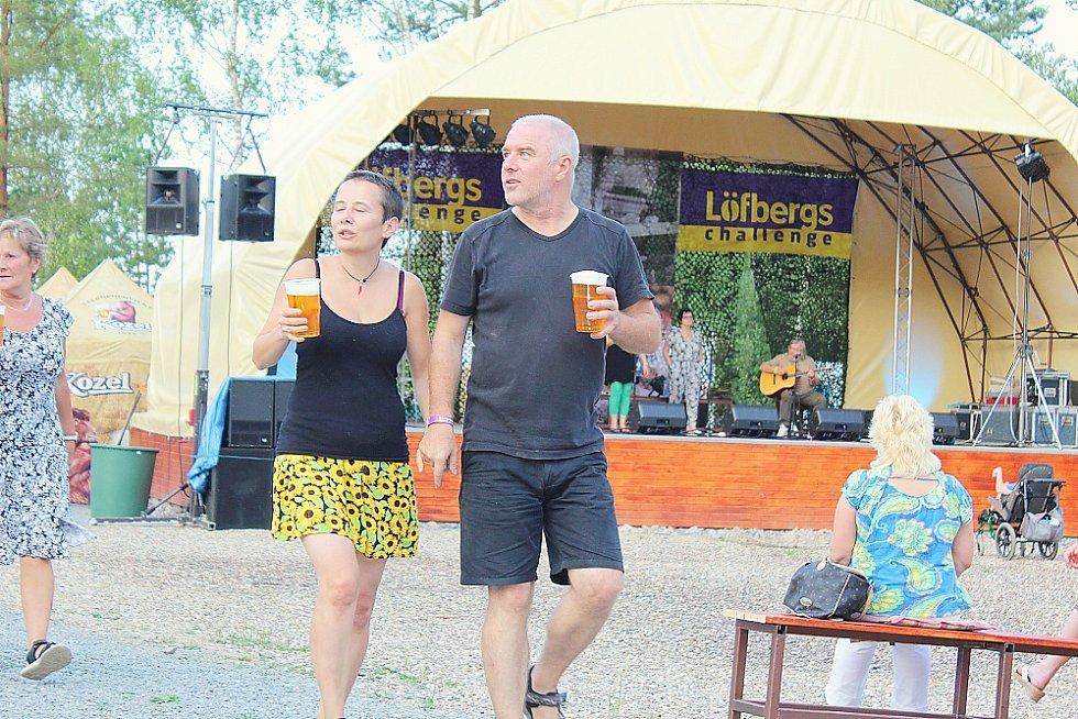 Festival Country Lom v Bořené Hoře.