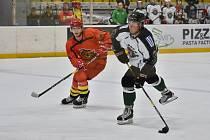Příbramští hokejisté naplnili proti China Golden Dragons minimální gólovou normu ve vzájemných zápasech