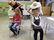 Podzimní školní jarmark v Sedlčanech.