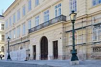 Budova městské policie v Příbrami.