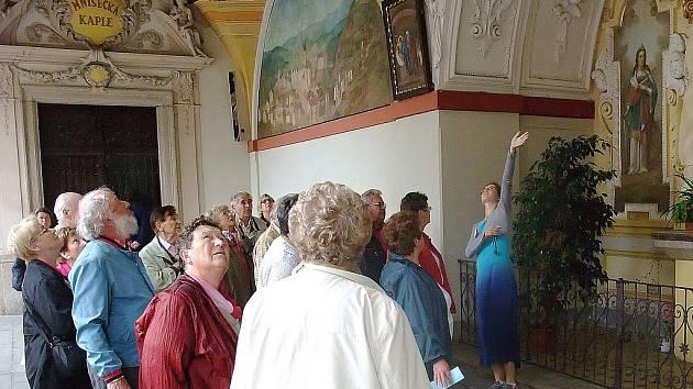 Turisté na Svaté Hoře.