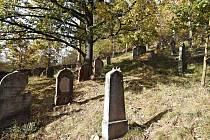 Židovský hřbitov u Čeliny.