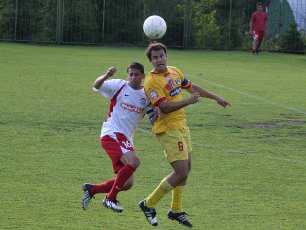 Divize: 1.FK Příbram B - Votice (1:1).