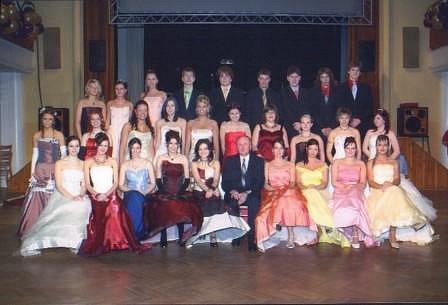 Maturitní ples třídy 4.C z Obchodní akademie a Vyšší odborné školy Příbram