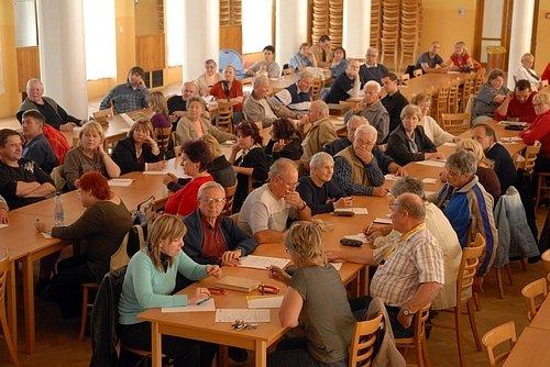 Setkání obyvatel Březohorského sídliště se zástupci města