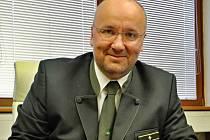 Generální ředitel státního podniku Vojenské lesy a statky České republiky (VLS) Josef Vojáček.