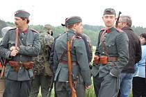 Ukázka posledních válečných výstřelů na Slivici.