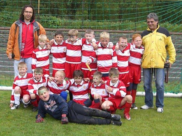 Kluci ze ZŠ Březové Hory vyhráli krajské finále McDonald´s Cupu v kategorii 1. - 3. tříd.