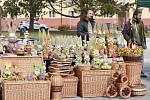 Zabijačkové speciality a velikonoční náladu mohli vychutnat návštěvníci velikonočních hodů na náměstí 17. listopadu v Příbrami.