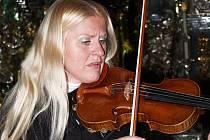 Gabriela Demeterová hrála pro svatohorské varhany.