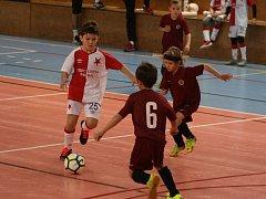 Halový turnaj akademie 1. FK Příbram ovládli hráči Bohemians, domácí obsadili skvělé druhé a třetí místo