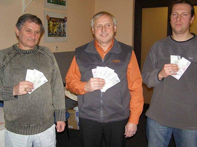 Ve čtvrtek proběhlo slavnostní ukončení podzimní Tip ligy. Nejlepší tři tipující obdrželi finanční odměny.