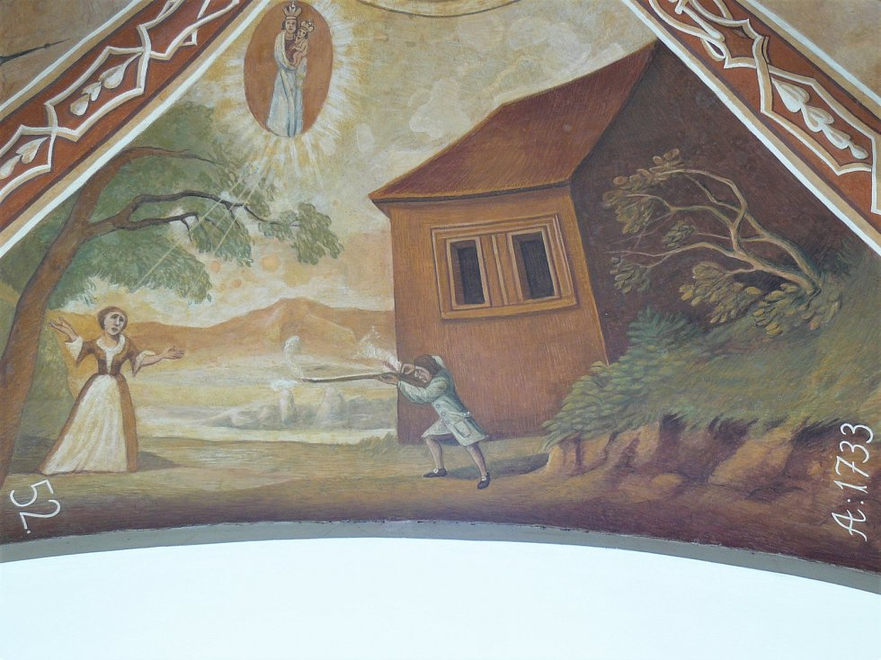 Sto svatohorských milostí: obraz číslo 52.