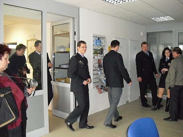 Policejní služebna v Sedlčanech