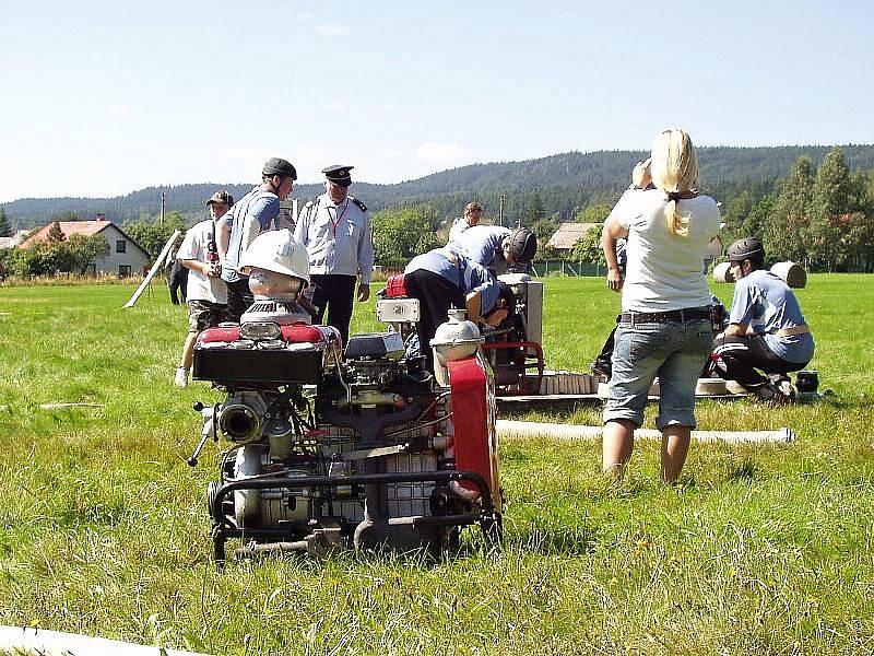 Sbor dobrovolných hasičů Zalány pořádal v sobotu 21. srpna 2010 Memoriál Václava a Anny Braunových.