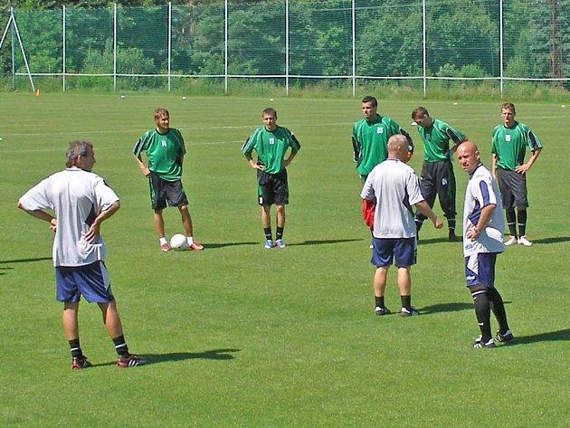 Fotbalisté Marily Příbram zahájili přípravu na novou sezonu.