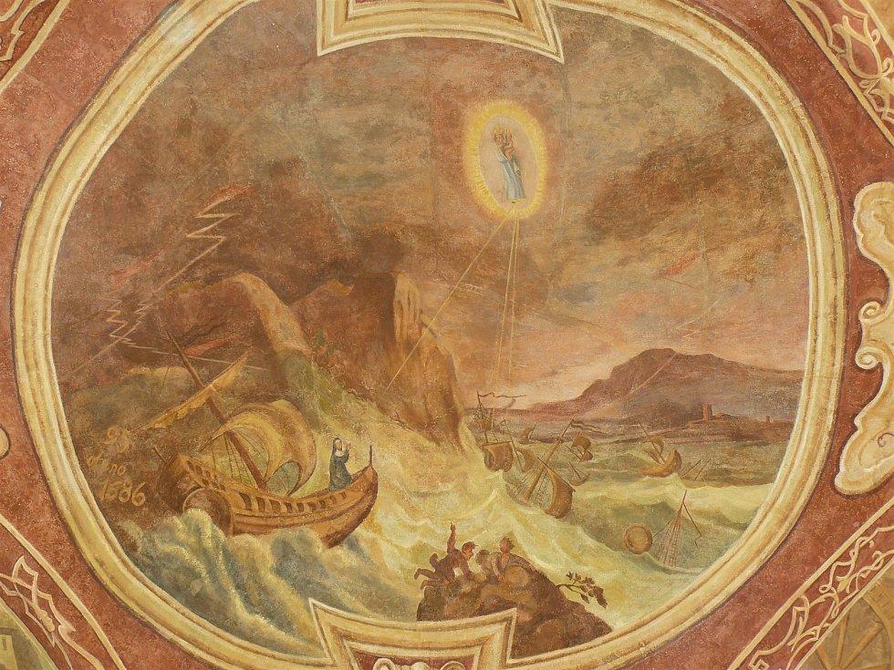Sto svatohorských milostí: obraz číslo 95.