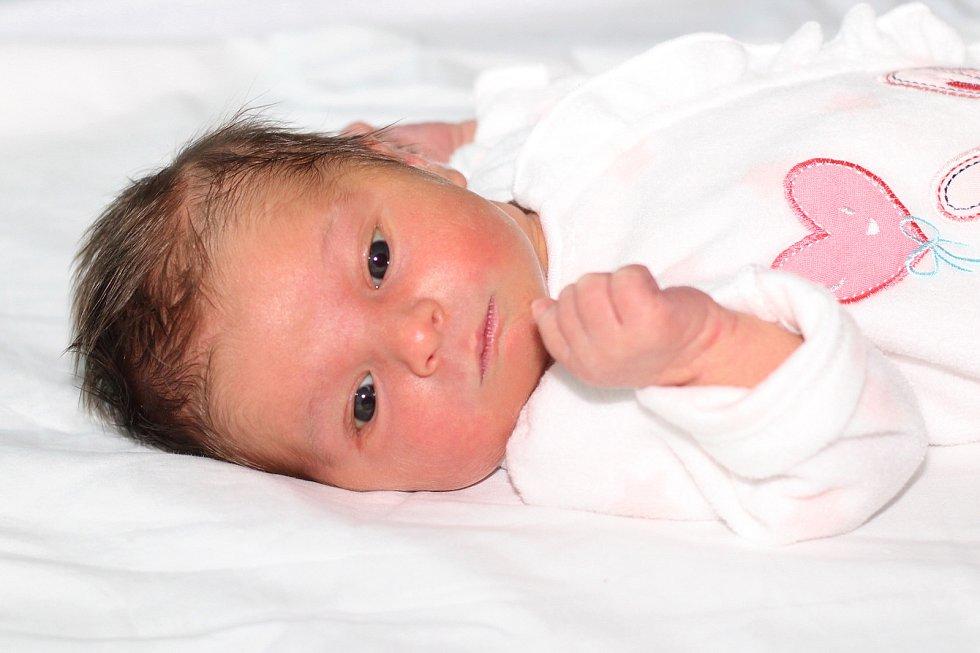 Anna Vobroučková se narodila 14. prosince 2018 s váhou 3,49 kg Haně a Alešovi.
