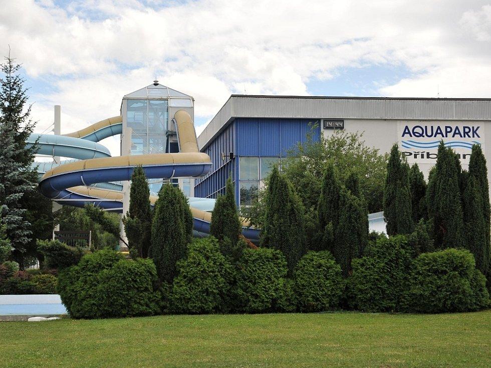 Aquapark v Příbrami.